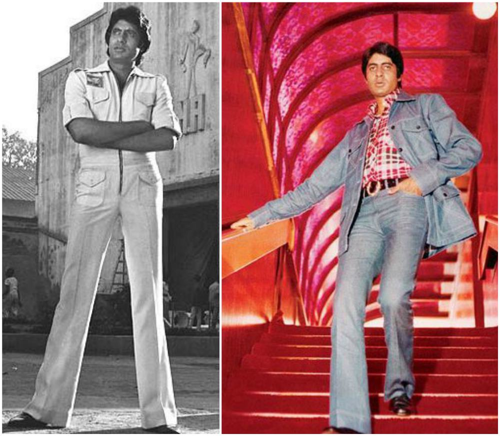 Amitabh Bachchan in young years