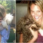 Bar Refaeli`s beloved pooches MishMash and Pucci