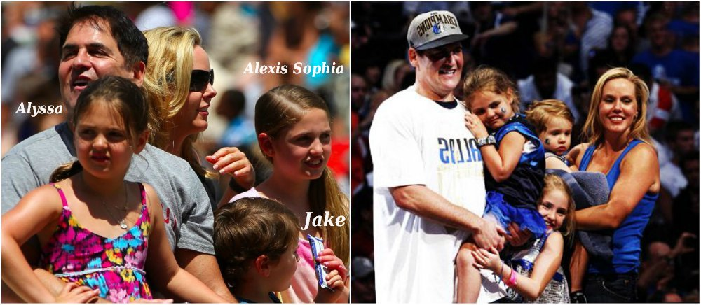 Mark Cuban`s kids - Alexis Sophia, Alyssa, Jake