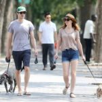 Adam Brody pets – Penny Lane and Thurman Murman