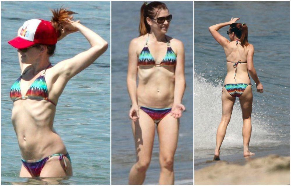 Alyson Hannigan has perfect body measurements as to her height