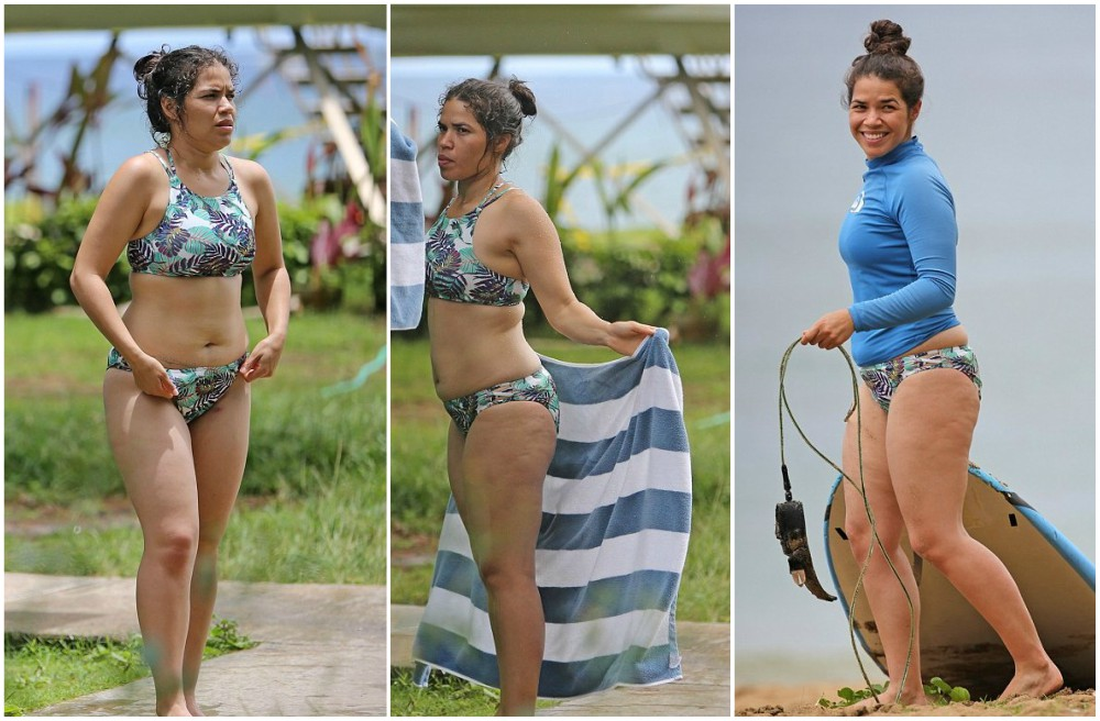 America Ferrera`s body measurements