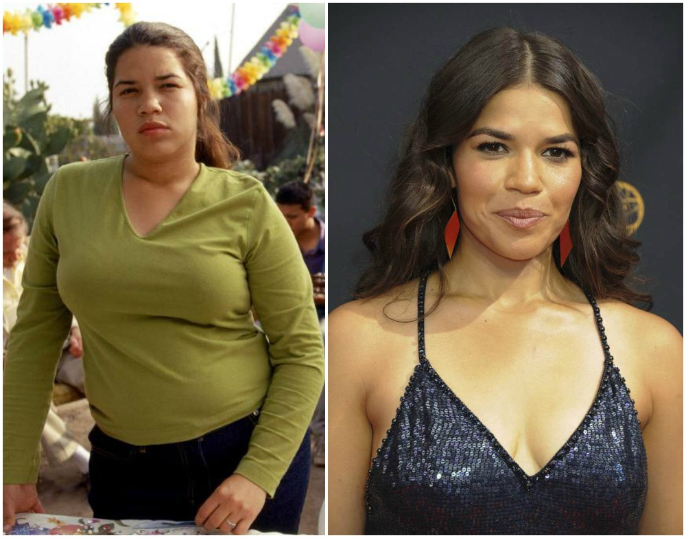 America Ferrera`s height, weight and age