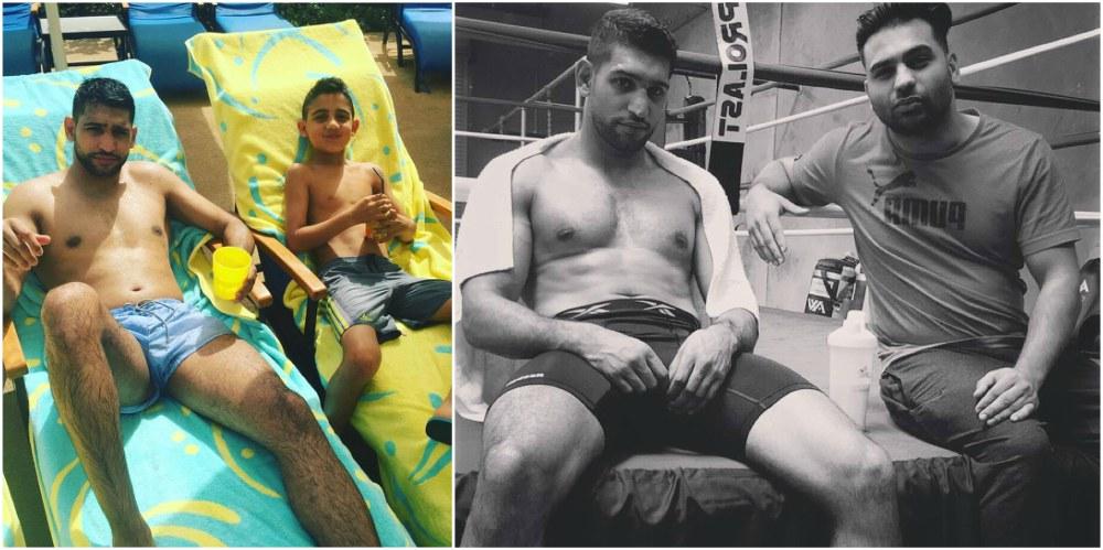 Boxer Amir Khan`s current body shape