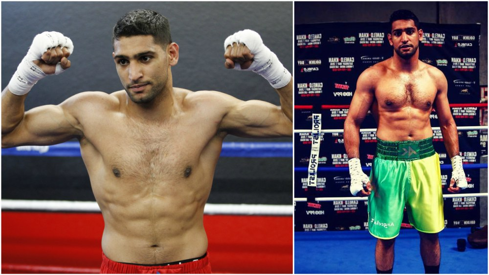 Boxer Amir Khan`s height, weight and age