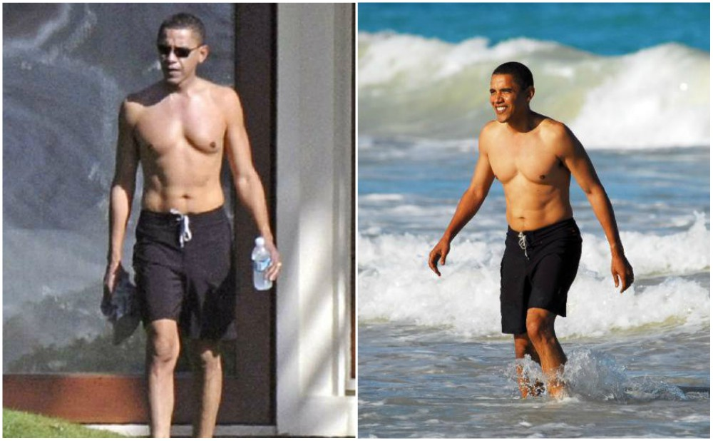 Barack Obama body stats