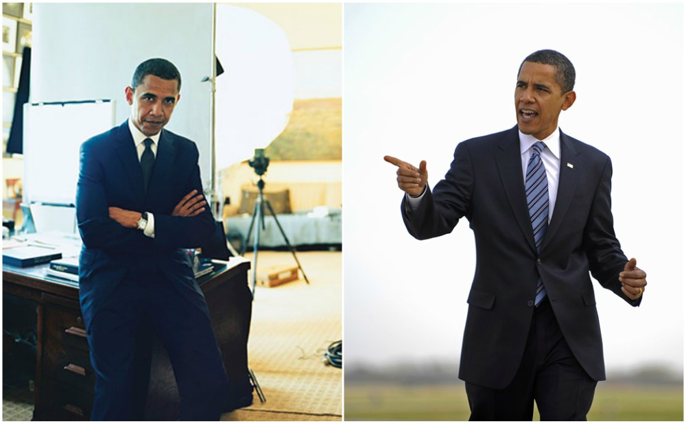 Barack Obama looking great in 55