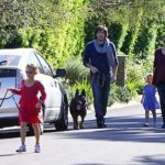 Ben Affleck loves dogs. He has three adorable pets
