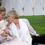 Ellen DeGeneres loves her dogs and cats