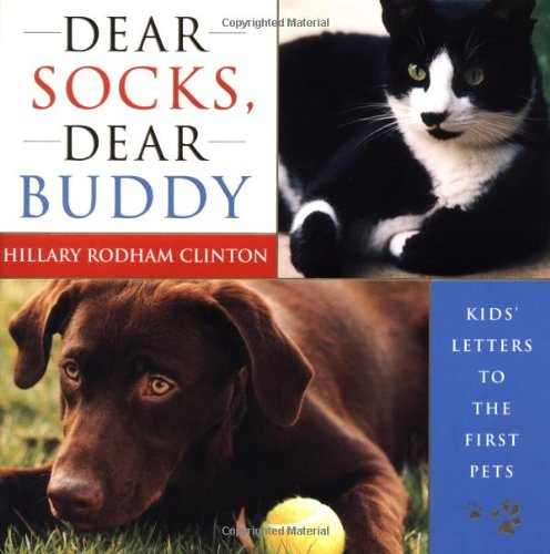 Hillary Clinton`s book about Socks and Buddy