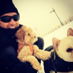 Hugh Jackman has two dogs – Dali and Allegra