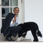 Barack Obama and his family are a real dog lovers