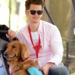 Andrew Garfield`s 2-year-old golden retriever Ren