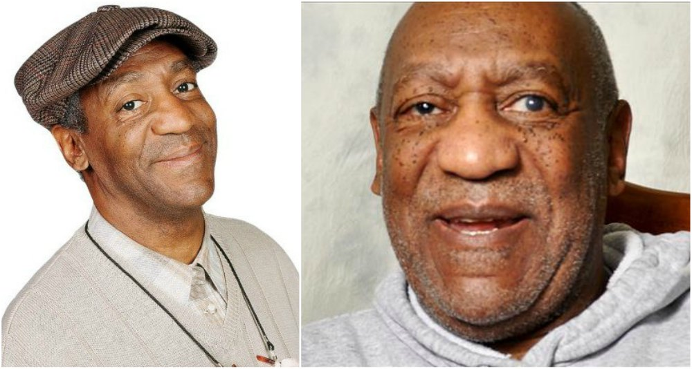 Bill Cosby`s eyes and hair color