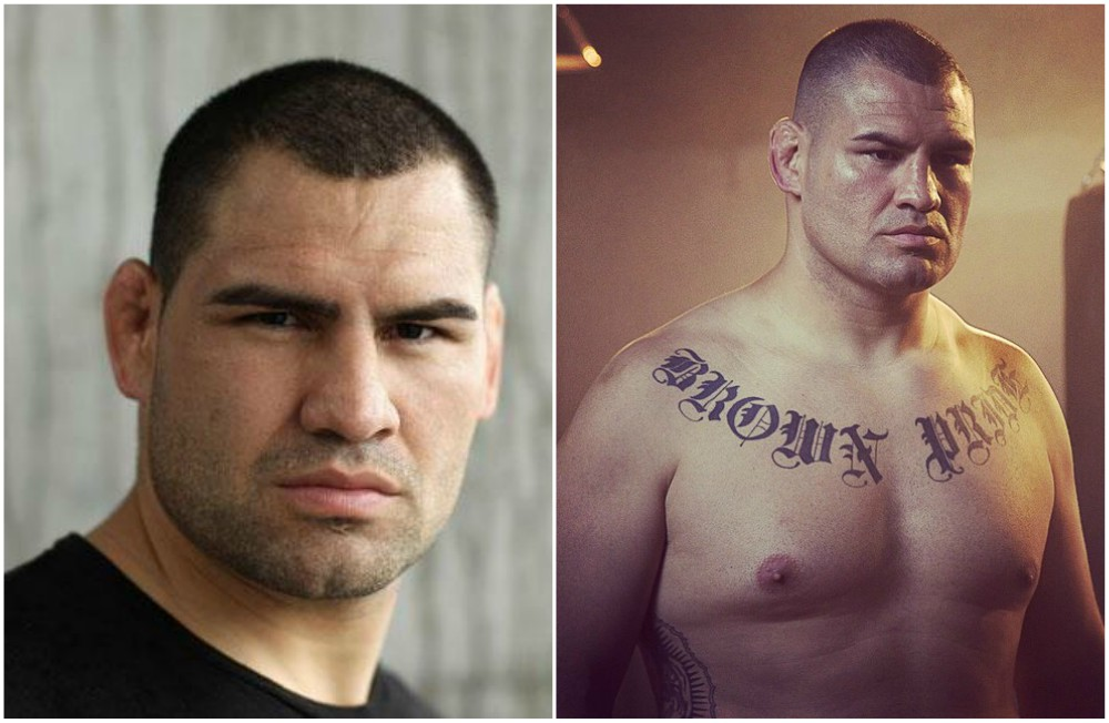 Cain Velasquez`s eyes and hair color