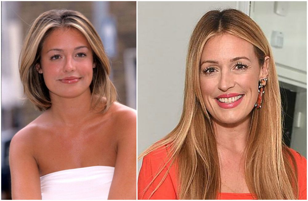 Cat Deeley`s eyes and hair color