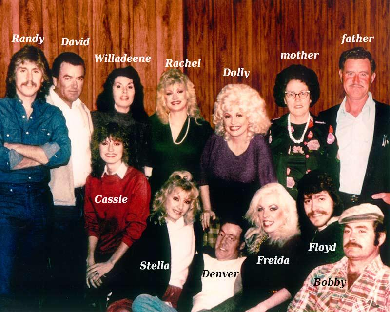 Dolly Parton`s big family