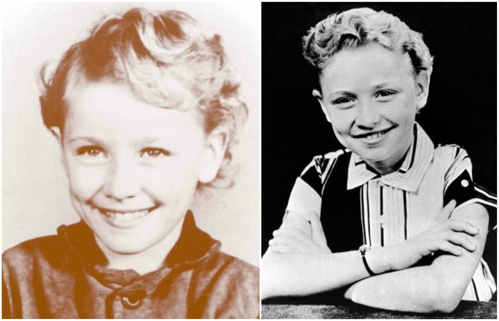 Dolly Parton as a child