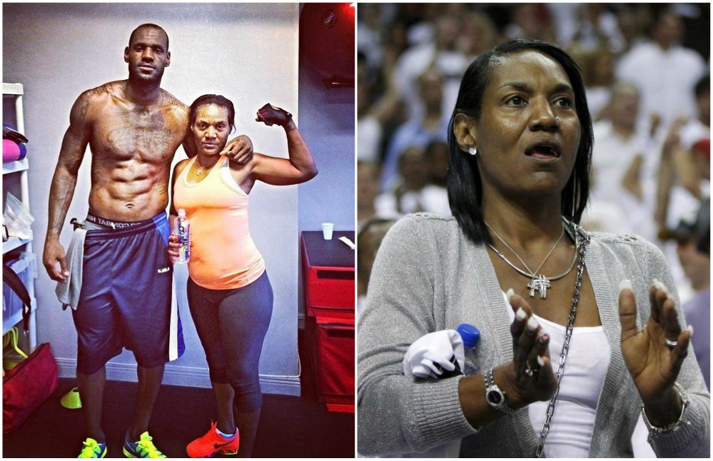 lebron james and his mother relationship
