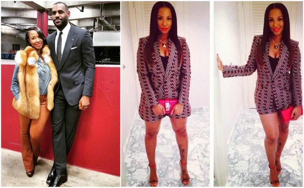 LeBron James family - wife
