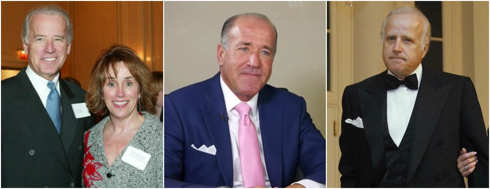 Joe Biden siblings - sister and two younger brothers