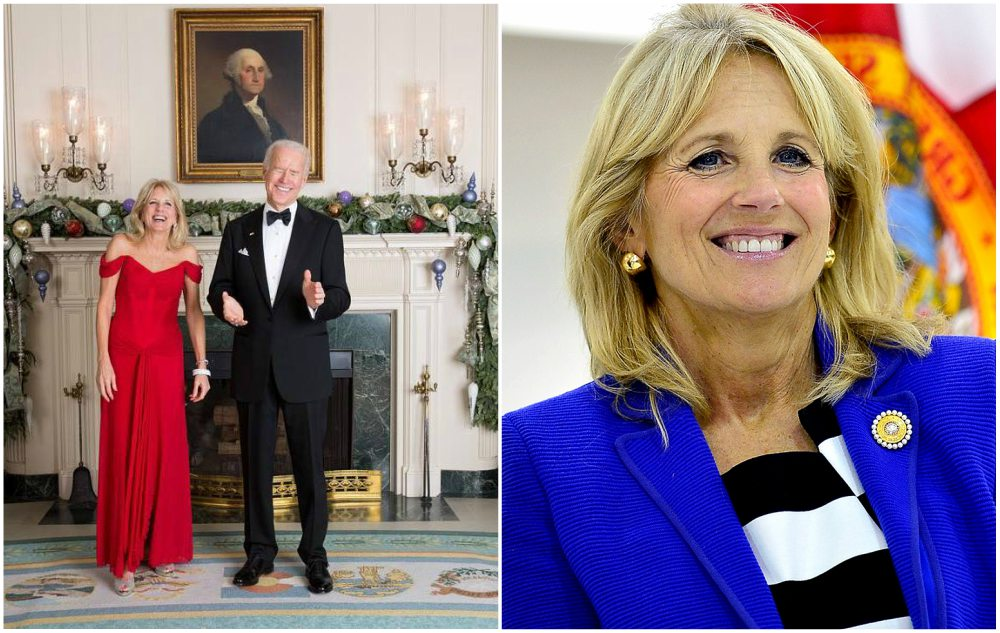 Joe Biden`s wife Jill