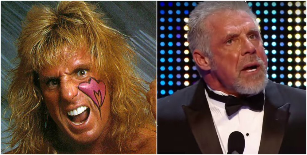 Ultimate Warrior`s eyes and hair color