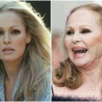 Gorgeous Bond's girlfriend Ursula Andress has a slim figure