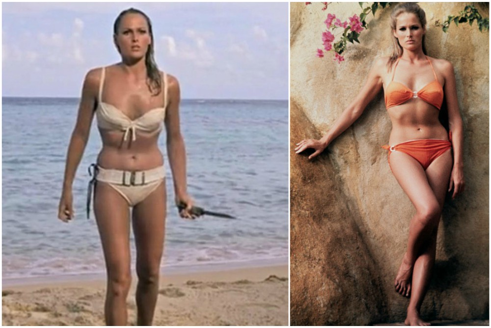 Ursula Andress` height, weight and age