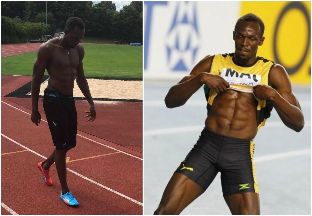 Usain Bolt`s height, weight and age