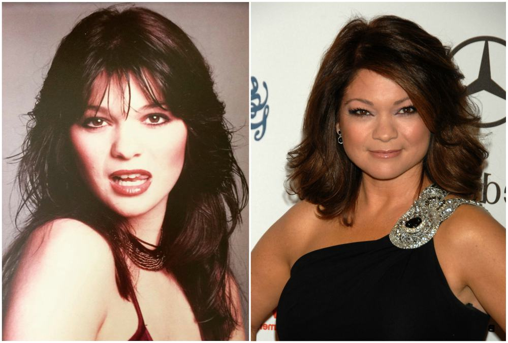 Valerie Bertinelli`s eyes and hair color