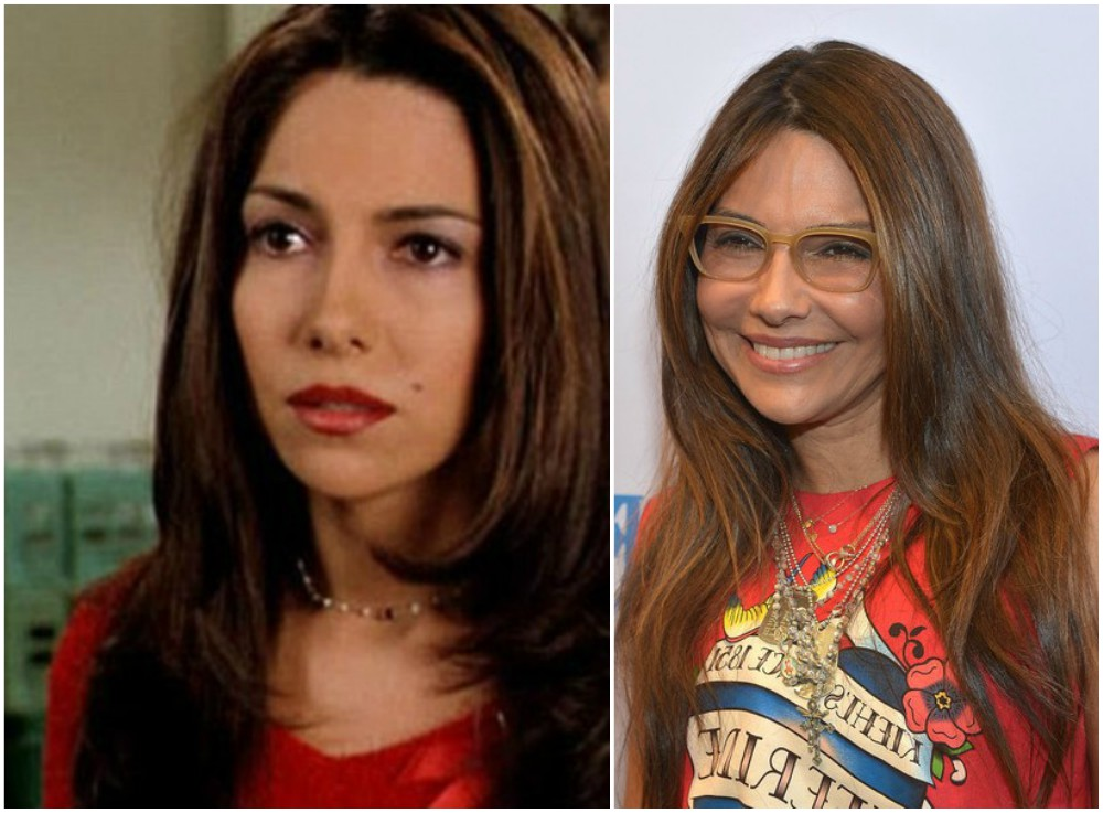 Vanessa Marcil`s eyes and hair color