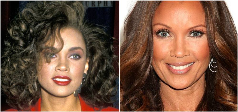 Vanessa Williams`eyes and hair color
