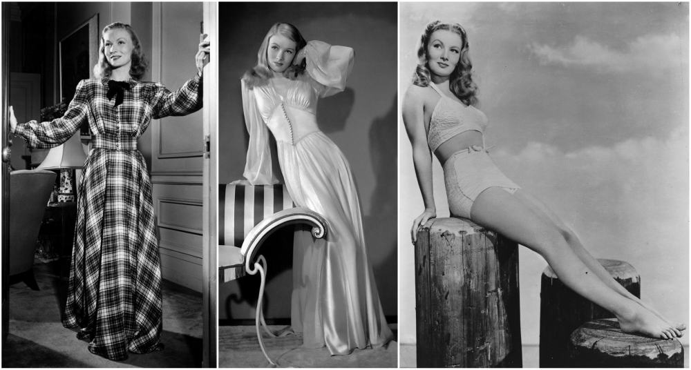 Veronica Lake`s height, weigth and age of death