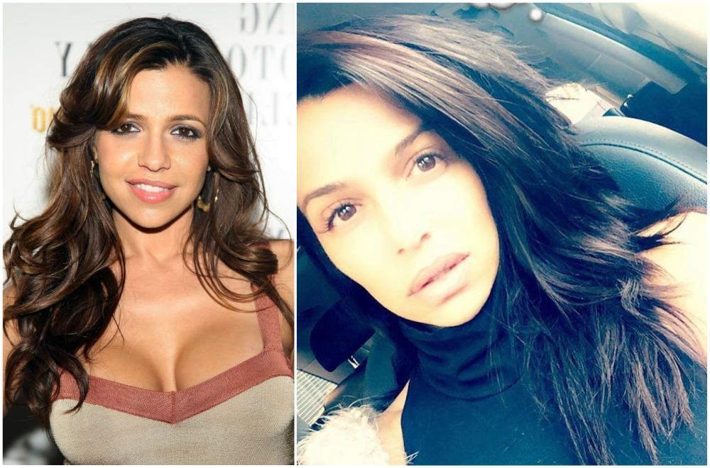 Vida Guerra`s eyes and hair color