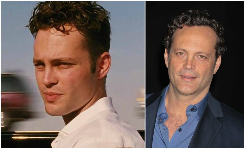 Vince Vaughn`s eyes and hair color