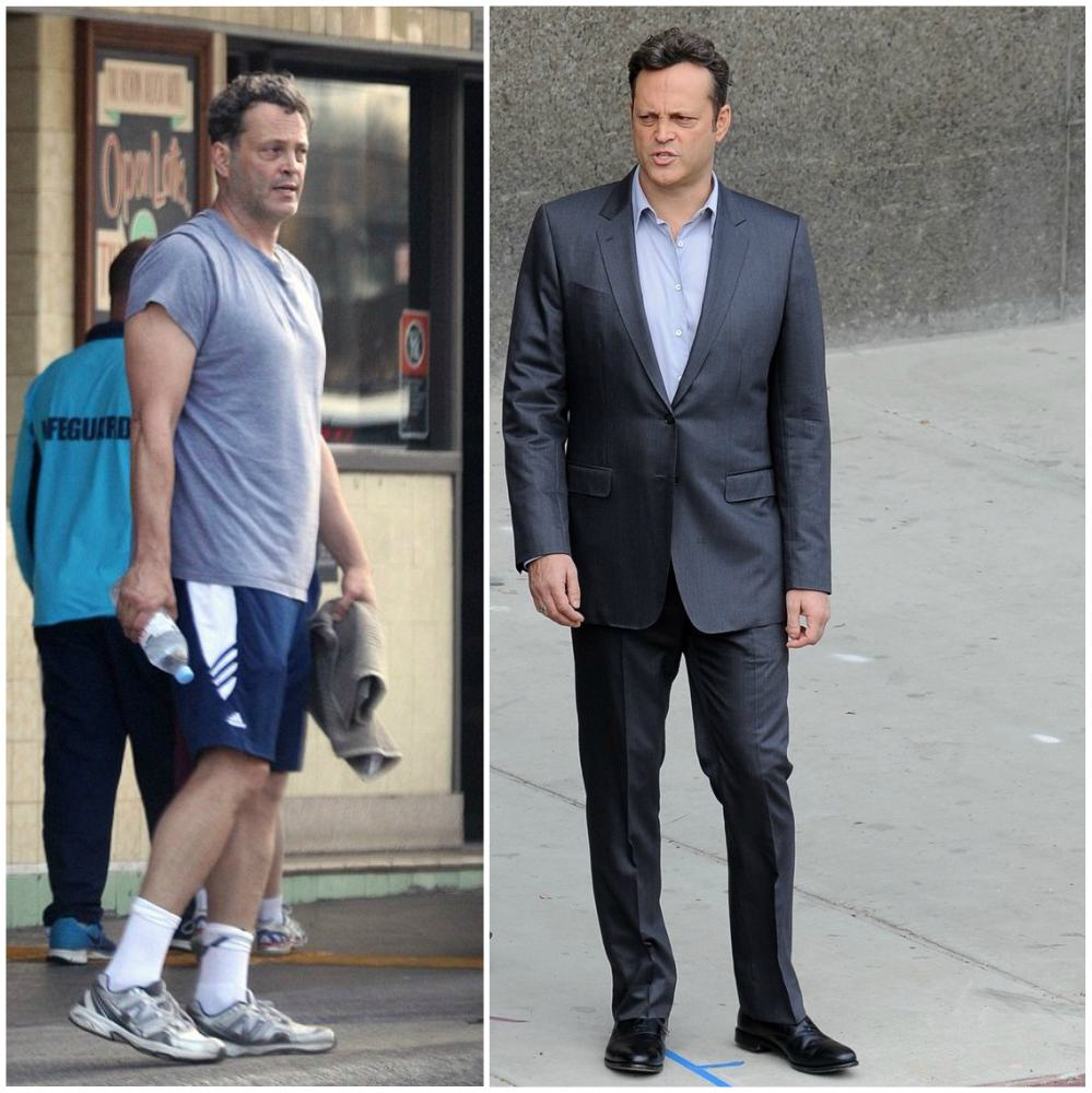 Vince Vaughn`s height, weight and age