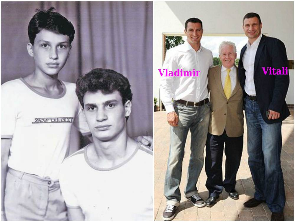 Vitali Klitschko`s height. weight and age