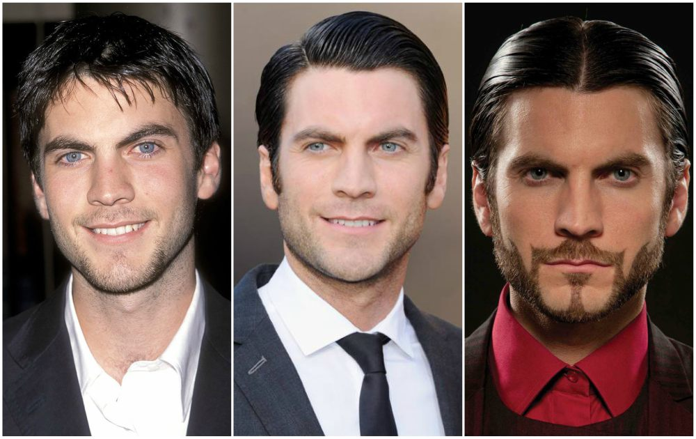 Wes Bentley`s eyes and hair color