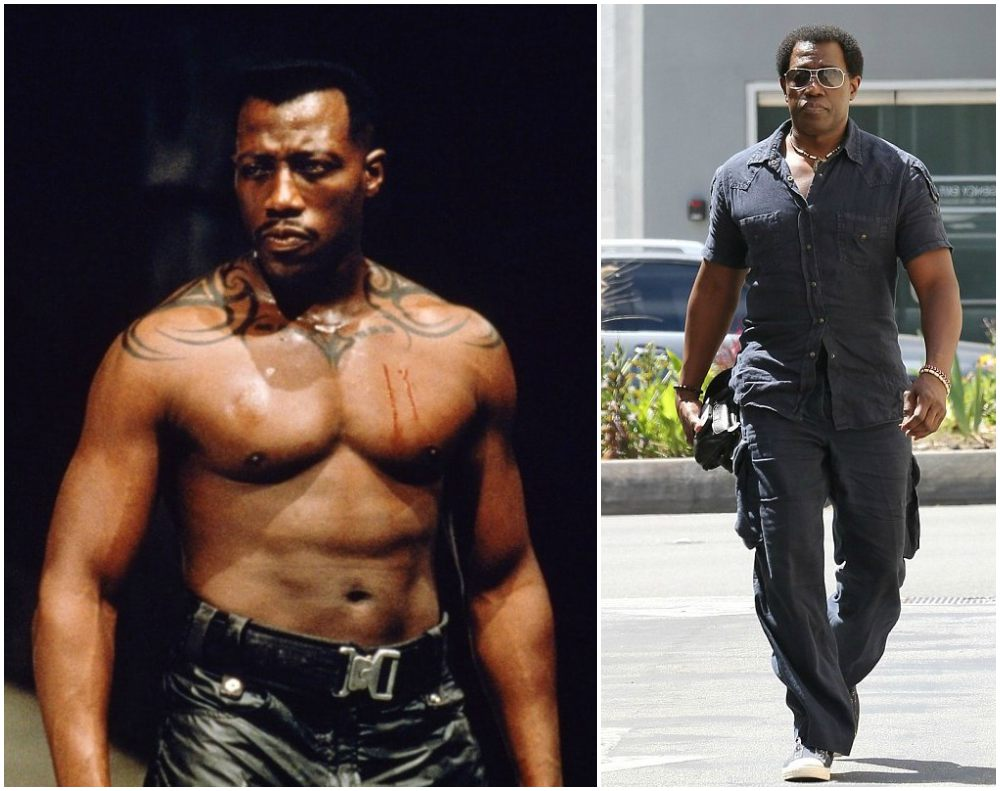 Wesley Snipes` height, weight and age