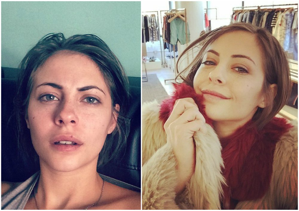 Willa Holland`s eyes and hair color