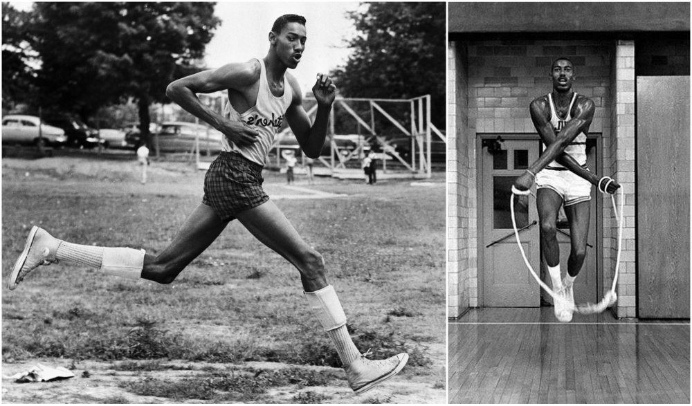 Wilt Chamberlain`s height, weight and age