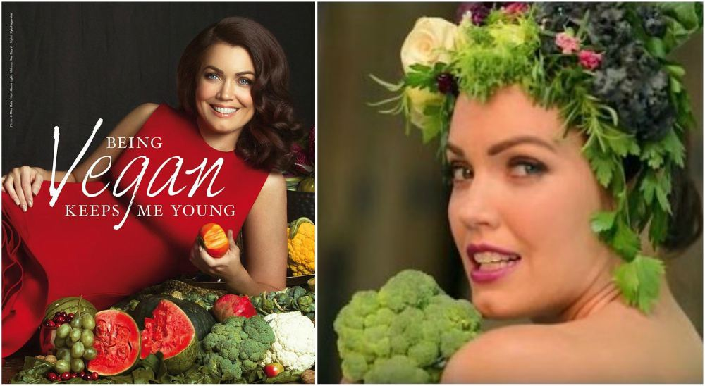 Bellamy Young is vegan since college time