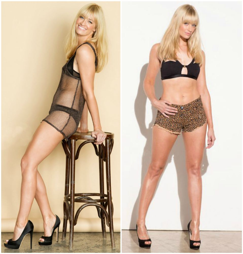 Beth Behrs` body measurements