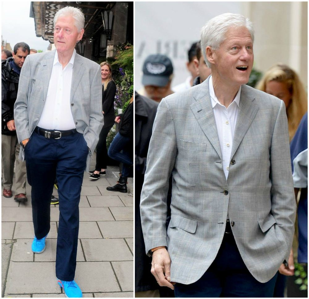 Bill Clinton`s height, weight and age