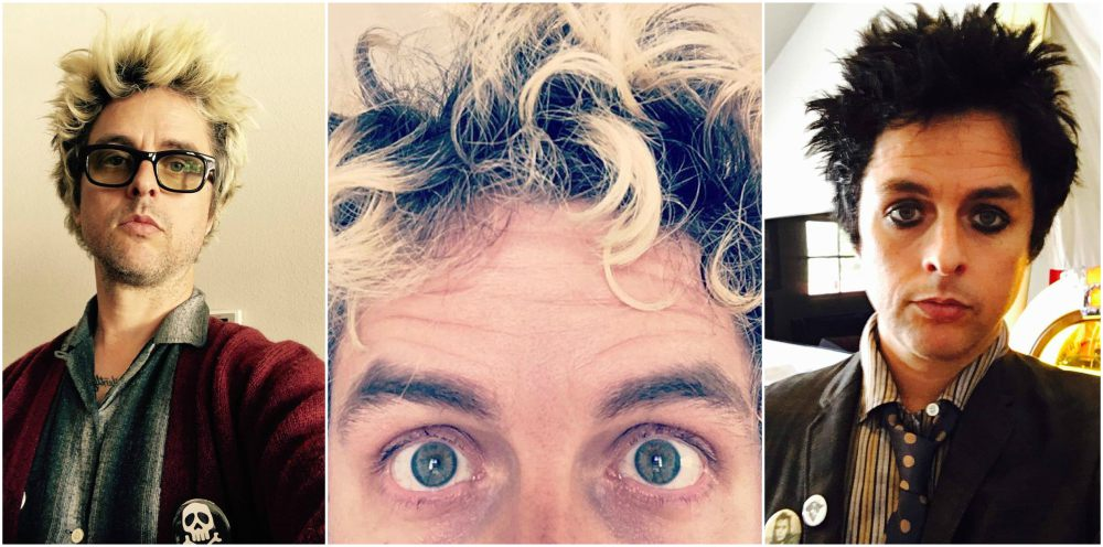 Billie Joe Armstrong`s eyes and hair color