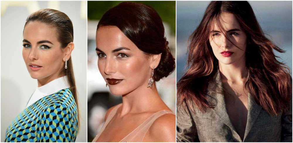 Camilla Belle`s eyes and hair color