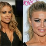 Carmen Electra does strip aerobics to stay in a great shape