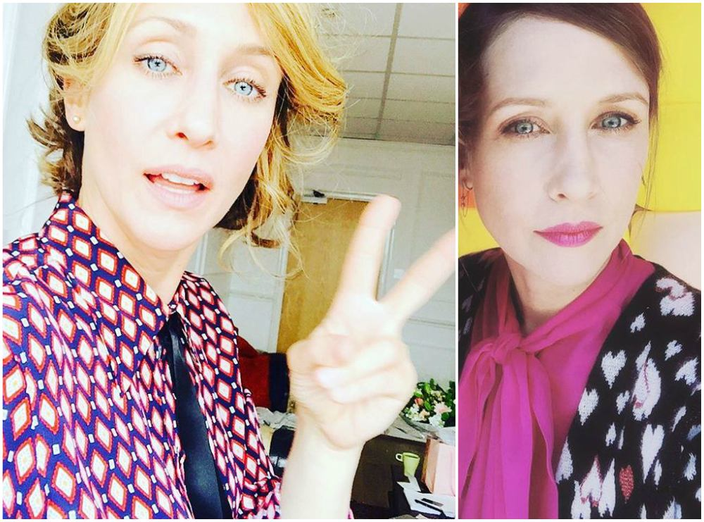 Vera Farmiga`s eyes and hair color