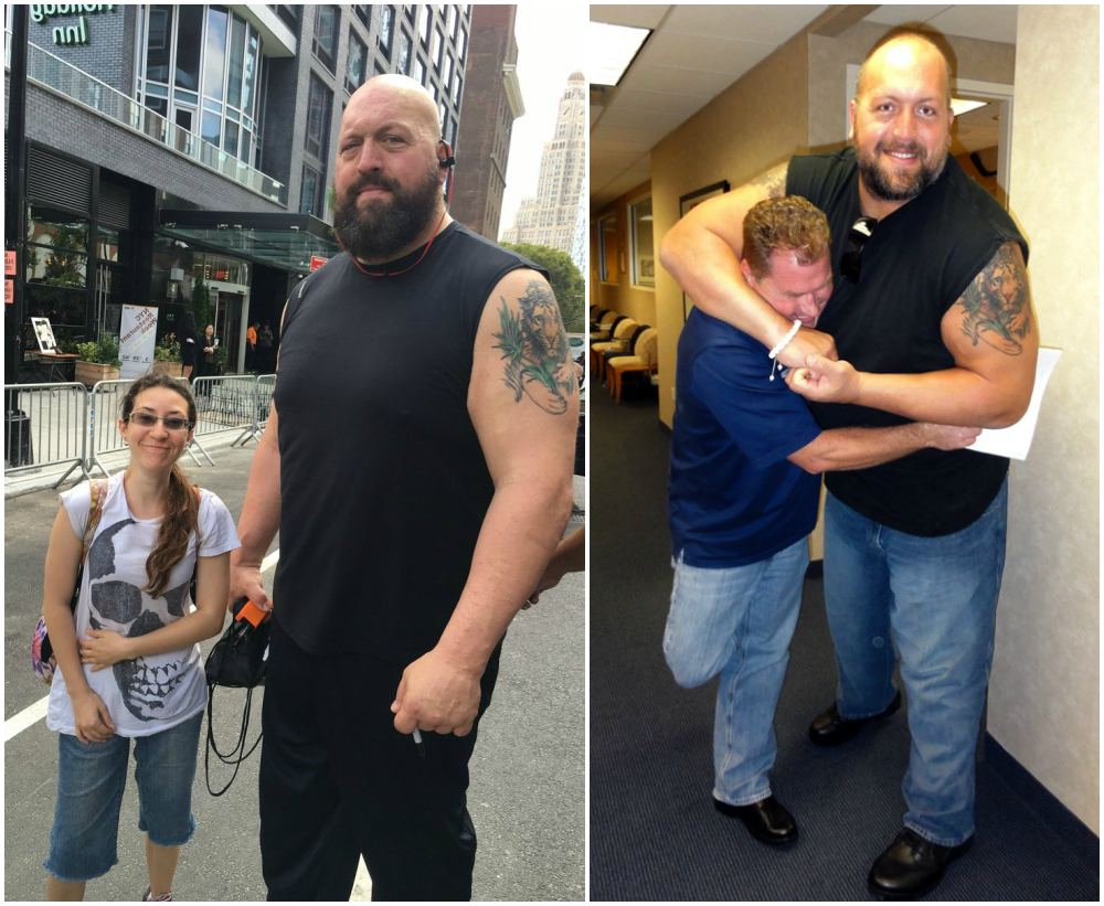 Wrestler Big Show`s height, weight and age